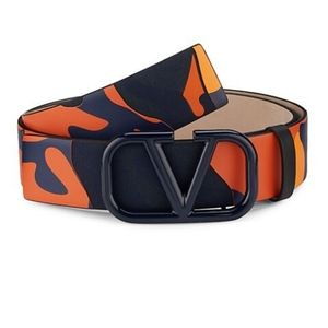 Valentino camouflage belt